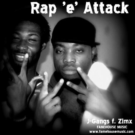 j-gangs  CD cover Rap attack2